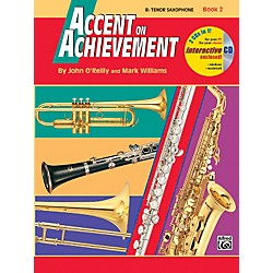 Alfred Accent on Achievement Book 2 B-Flat Tenor Saxophone Book & CD (00-18262)