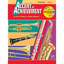 Alfred Accent on Achievement Book 2 Baritone B.C. Book & CD (00-18267)