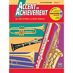 Alfred Accent on Achievement Book 2 E-Flat Alto Saxophone Book & CD (00-18261)