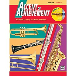 Alfred Accent on Achievement Book 2 Horn in F Book & CD (00-18265)