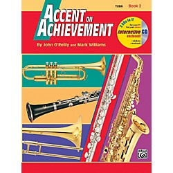 Alfred Accent on Achievement Book 2 Tuba Book & CD (00-18269)