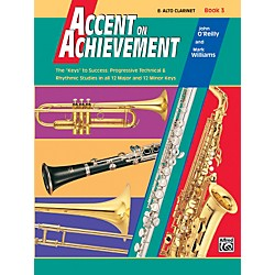 Alfred Accent on Achievement Book 3 Alto Clarinet Book & CD (00-18057)