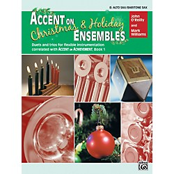 Alfred Accent on Christmas and Holiday Ensembles E-Flat Alto Sax/Bari Sax (00-22232)