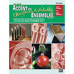 Alfred Accent on Christmas and Holiday Ensembles Percussion (00-22238)