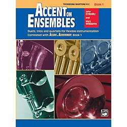 Alfred Accent on Ensembles Book 1 Trombone Baritone B.C. (00-19620)