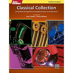 Alfred Accent on Performance Classical Collection Baritone Saxophone Book (00-41298)