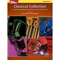 Alfred Accent on Performance Classical Collection Bass Clarinet Book (00-41296)
