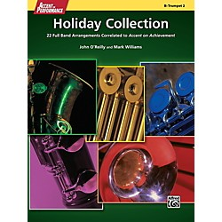 Alfred Accent on Performance Holiday Collection Trumpet 2 Book (00-41328)
