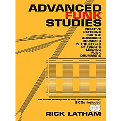 Alfred Advanced Funk Studies (Book/2 CDs) (94-RLP1)