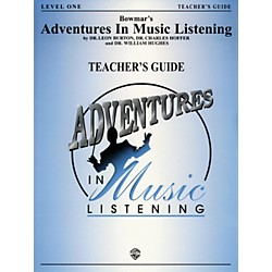 Alfred Adventures In Music Listening Level One Teacher Guide/CD (00-BMR08201)