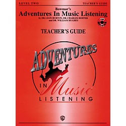 Alfred Adventures In Music Listening Level Two Teacher's Guide/CD (BMR08202)