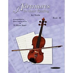 Alfred Adventures in Music Reading for Violin Book III (00-0665)