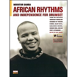 Alfred African Rhythms and Independence for Drumset - Mokhtar Samba (Book/CD) (83-MIM002)