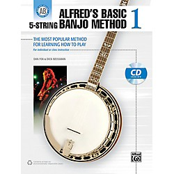 Alfred Alfred's Basic 5-String Banjo Method 1 Book & CD (00-38922)