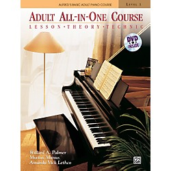 Alfred Alfred's Basic Adult All-in-One Course Book 1 & DVD (00-37748)