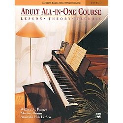 Alfred Alfred's Basic Adult All-in-One Course Book 1 (00-5753)