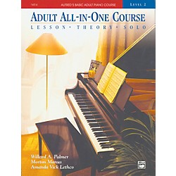 Alfred Alfred's Basic Adult All-in-One Course Book 2 (00-14514)