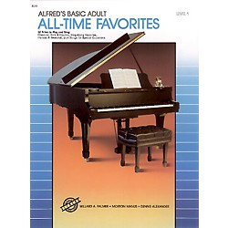Alfred Alfred's Basic Adult Piano Course All-Time Favorites Book 1 (00-3079)