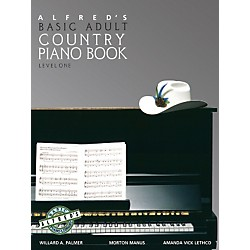 Alfred Alfred's Basic Adult Piano Course Country Songbook Book 1 (00-2506)