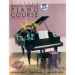 Alfred Alfred's Basic Adult Piano Course Lesson Book 1 & DVD (00-37745)