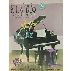Alfred Alfred's Basic Adult Piano Course Lesson Book 1 Book 1 & CD (00-14041)