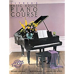Alfred Alfred's Basic Adult Piano Course Lesson Book 1 (00-2236)