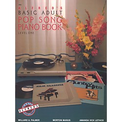 Alfred Alfred's Basic Adult Piano Course Pop Song Book 1 (00-2463)