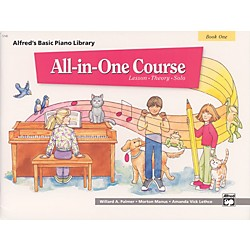 Alfred Alfred's Basic All-in-One Course Book 1 (00-5740)