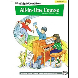 Alfred Alfred's Basic All-in-One Course for Children Universal Edition Book 2 (00-14505)