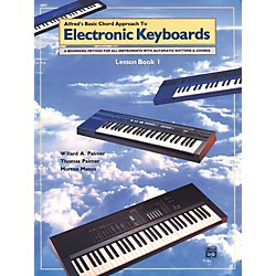 Alfred Alfred's Basic Chord Approach to Electronic Keyboards Lesson Book 1 (00-3097)