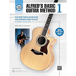 Alfred Alfred's Basic Guitar Method Level 1 Book (00-33304)