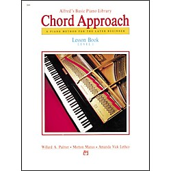 Alfred Alfred's Basic Piano Chord Approach Lesson Book 1 (00-2644)