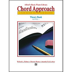 Alfred Alfred's Basic Piano Chord Approach Theory Book 1 (00-2646)