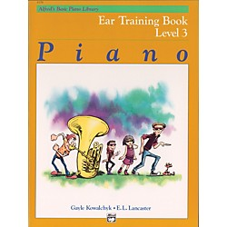 Alfred Alfred's Basic Piano Course Ear Training Book 3 (00-6156)