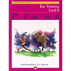 Alfred Alfred's Basic Piano Course Ear Training Book 4 (00-6199)