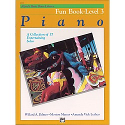 Alfred Alfred's Basic Piano Course Fun Book 3 (00-2393)