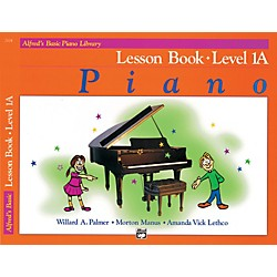 Alfred Alfred's Basic Piano Course Lesson Book 1A (00-2104)