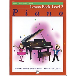 Alfred Alfred's Basic Piano Course Lesson Book 2 (00-2108)