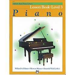 Alfred Alfred's Basic Piano Course Lesson Book 3 (00-2109)
