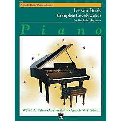 Alfred Alfred's Basic Piano Course Lesson Book Complete 2 & 3 (00-6214)