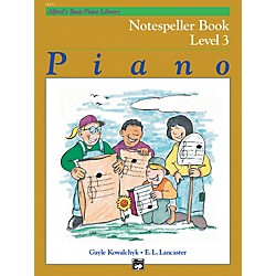 Alfred Alfred's Basic Piano Course Notespeller Book 3 (00-14557)