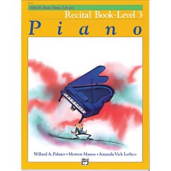 Alfred Alfred's Basic Piano Course Recital Book 3 (00-2115)