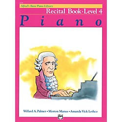 Alfred Alfred's Basic Piano Course Recital Book 4 (00-2116)