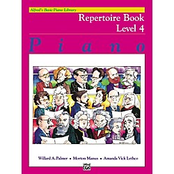 Alfred Alfred's Basic Piano Course Repertoire Book 4 (00-6190)