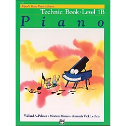 Alfred Alfred's Basic Piano Course Technic Book 1B (00-2464)