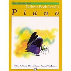 Alfred Alfred's Basic Piano Course Technique Book 3 (00-2518)