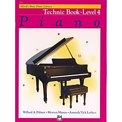 Alfred Alfred's Basic Piano Course Technique Book 4 (00-2519)