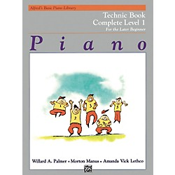 Alfred Alfred's Basic Piano Course Technique Book Complete 1 (1A/1B) (00-2459)