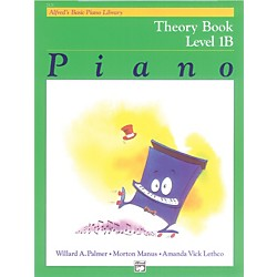 Alfred Alfred's Basic Piano Course Theory Book 1B (00-2121)