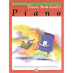 Alfred Alfred's Basic Piano Course Theory Book 2 (00-2122)